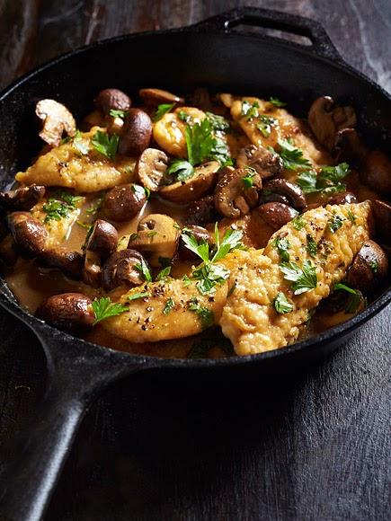 Chicken & Mushroom Marsala Recipe