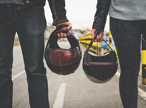 Summertime Motorcycling: Wear your GEAR! Protect yourself.