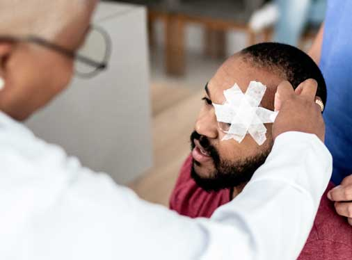 Eye Injuries in the Workplace…It Happens